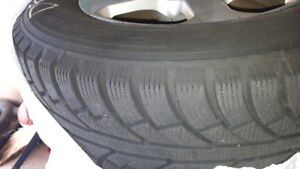 WESTLAKE 245/65R17/107T SW606 Winter tires(4)..! AS GOOD AS NEW!