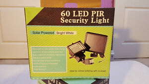 60 LED Solar Outdoor Security Motion Light ( FACTORY PRICE).