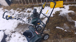 2 electric snowblowers  150 for both