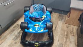 Batman baby walker bouncer adjustable