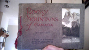 Rocky mountains of Canada 20 views in real photogravure