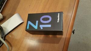 MINT blackberry Z10 with extras