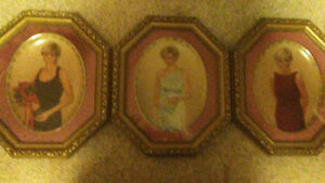 Set of 14 Princess Dianna plates with frames Kingston Kingston Area image 4