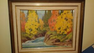 REDUCED!!!  Valuable and Collectible Norwell oil painting