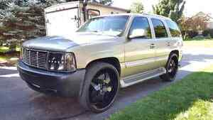 2001 Chevrolet Tahoe with 28 inch wheels!!