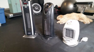 Portable Heaters (3 available)