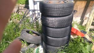 Set de pneu sur rim