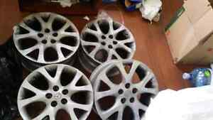 2010 MAZDA 6 GT WHEELS ONLY / FITS MOST MAZDA AND OTHERS