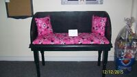 NEW Repurposed MINNIE MOUSE BENCH