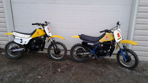 Suzuki DS 80 dirt bikes