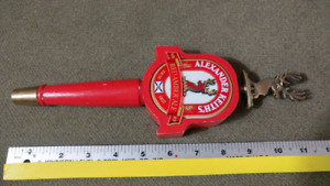 ALEXANDER KEITH's. RED AMBER TAP HANDLE