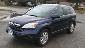 2009 HONDA CR-V EX SUNROOF 4X4 ALLOY CLEAN CARPROOF