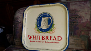 Old beer tray The house of Whitbread