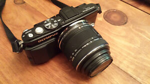 Olympus E-PL5 + kit lens- Excellent condition, 3+ yr warranty