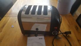 Dualit 2/4 slot toaster