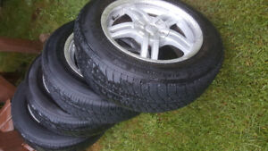 """15"""" Alloy Wheels Universal fit with 195/65r 15 tires"""