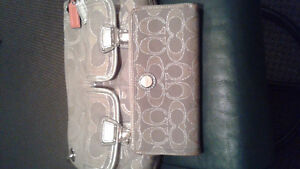 Authentic  coach purse and wallet Peterborough Peterborough Area image 1