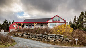 TIMBER FRAME, OCEANFRONT DREAM HOME - WEST JEDDORE