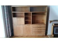 Still Available - Cabinet and Shelving Unit - Great Upcycle Potential