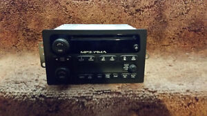 Radio MP3 player, from 2009 GM Canyon
