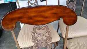 Cast iron/wood chairs French Parisienne style  Kitchener / Waterloo Kitchener Area image 3
