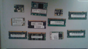 DDR1 / DDR2 Laptop RAM Memory + other (lot)