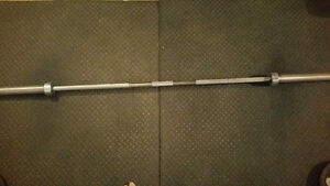 Olympic Barbell 7 foot