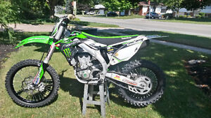 2015 Kawasaki kx450f  For Sale