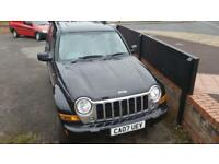 Jeep Cherokee 2.8TD ( 161bhp ) 4X4 Limited 2007 coming in soon waiting prep