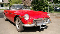 1970 MGB with overdrive