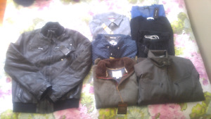 Huge lot mens clothes all size small brand new