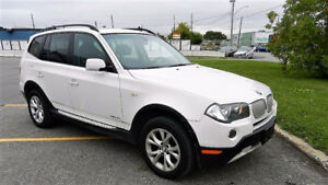 I HAVE LANDED ! 2009 WHITE X3 AWD PANOROOF ! CALL NOW 6133141111