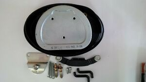Air filter assembly and hardware