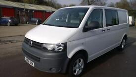 Volkswagen Transporter T32 TDi 140 Kombi Vanside Windows DIESEL MANUAL 2013/62