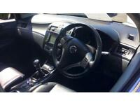 2014 Nissan Pulsar 1.5 dCi Tekna with SAT NAV Cr Manual Diesel Hatchback