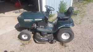 Crafstman riding mower