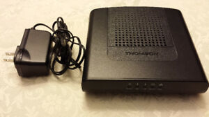 Thomson DCM476 Cable Modem Mint Condition