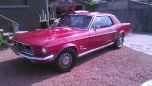 1968 FORD MUSTANG COUPE - ALL ORIGINAL CLASSIC CAR