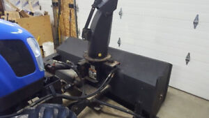 """72"""" front mount snow blower"""