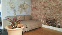 SOUSLOCATION D'ETE - SUMMER SUBLET in Downtown