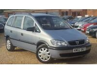 Vauxhall/Opel Zafira 1.6i 2002 Club - 7 SEAT - 7 SEATER - PX - SWAP - DELIVERY