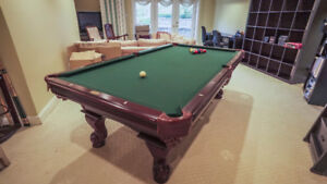 Beautiful Paragon Pool Table