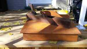 Antique wooden plane and writers box $50 Peterborough Peterborough Area image 1