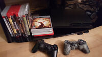 PS3 - 320 GB + 13 jeux ! NEGOTIABLE