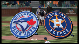 Astros vs Blue Jays Thurs July 6th Great 100 Level Seats
