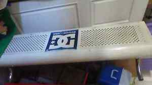 Steel Bench Seat DC Shoes