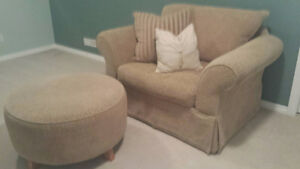 Nest Chair and Ottoman