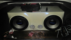 "Cobalt Orion Dual 10"" Subs"