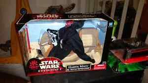 Darth maul with sith speeder!