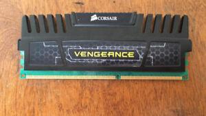 4GB DDR3 RAM Corsair vengeance